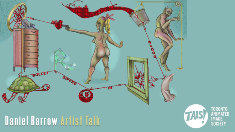 Daniel Barrow Artist Talk Thurs., Dec. 6